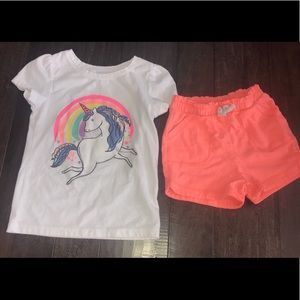 Toddler outfit! Unicorn